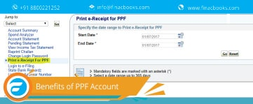 SBI Public Provident Fund (PPF) Account