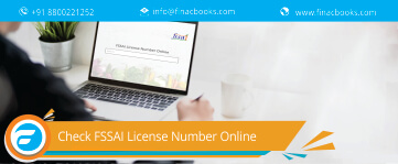Check FSSAI License Number Online