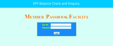 EPF Balance Check and Enquiry
