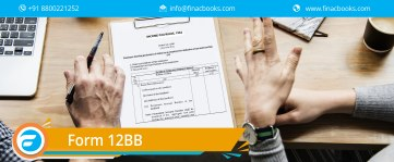 Form 12BB: Declaration of Tax Saving Investment & Expenses