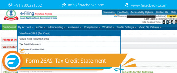 Income Tax Form 26AS: Tax Credit Statement