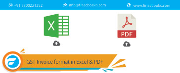 GST Invoice format in Excel & PDF
