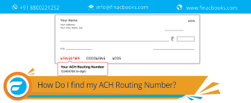 How Do I find my ACH Routing Number?