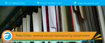 Patta Chitta- Revenue Record Maintained by Government of Tamil Nadu