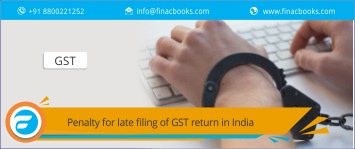 Penalty for Late Filing of GST Return in India