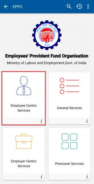 Employee Centric Services