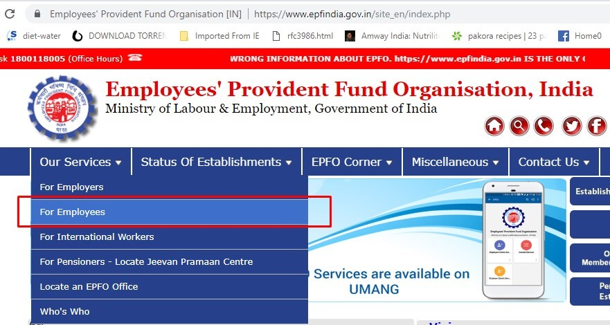 EPF for Employees