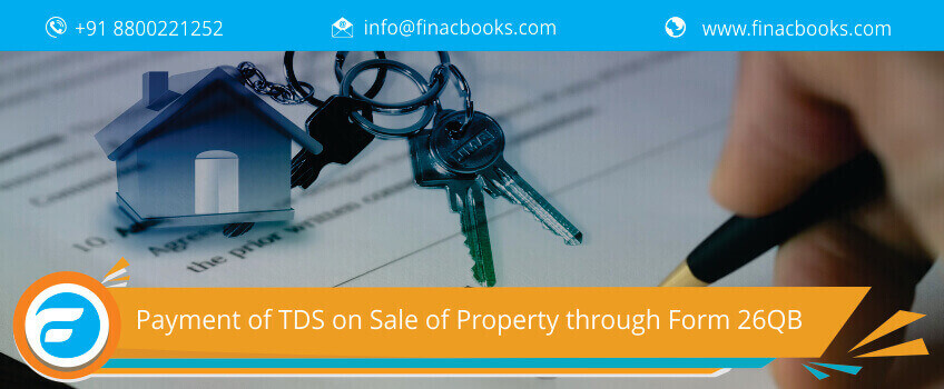 Payment of TDS on Sale of Property through Form 26QB
