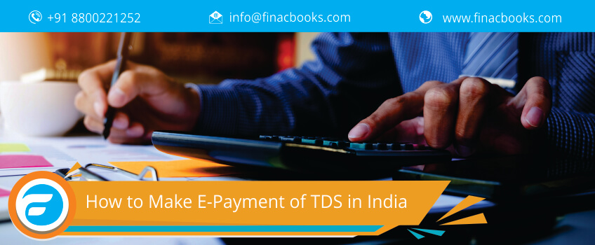 How to Make E-Payment of TDS in India