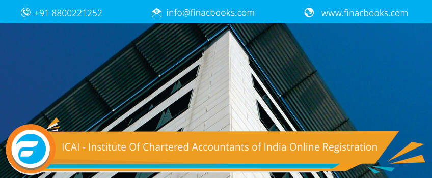 ICAI - Institute Of Chartered Accountants of India Online Registration