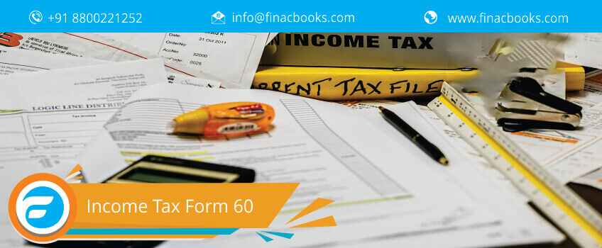 Income Tax Form 60