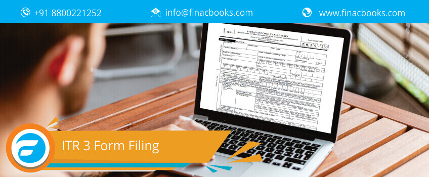 ITR 3 Form Filing