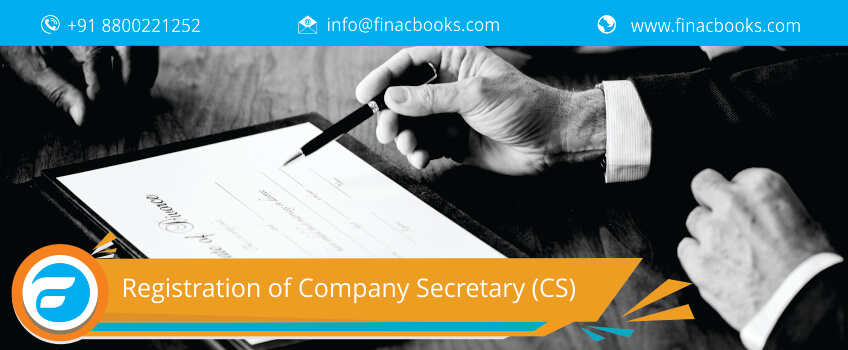 Registration of Company Secretary (CS)