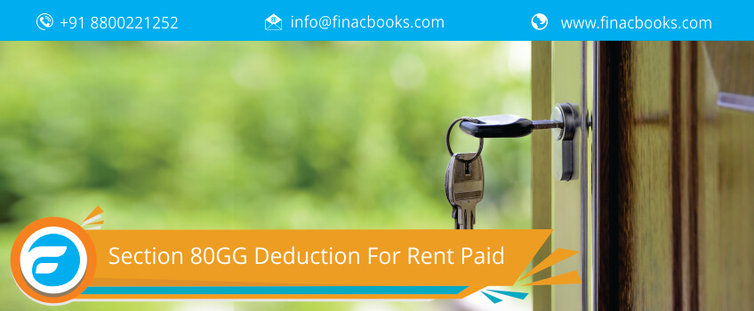 Section 80gg Deduction For Rent Paid