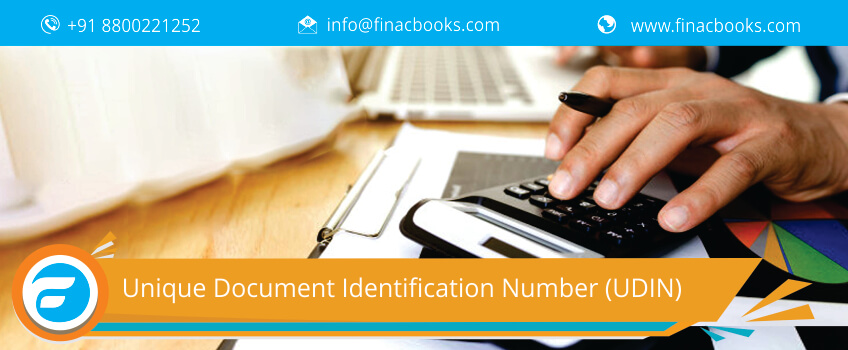 Unique Document Identification Number (UDIN)