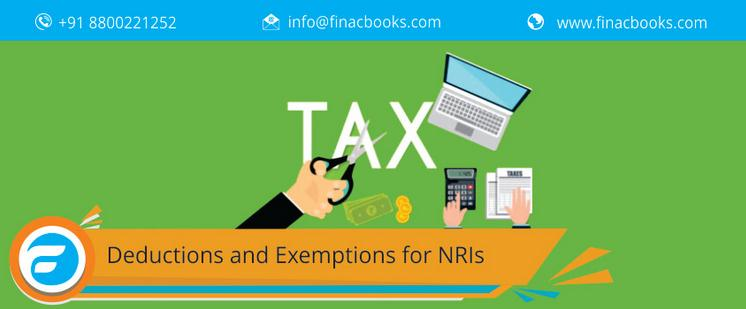 Deduction And Exemptions For NRIs