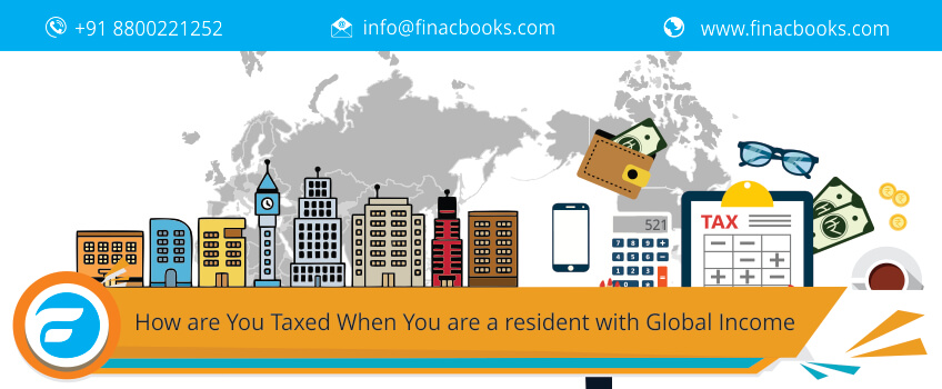 How are You Texad When You are a resident with Global Income