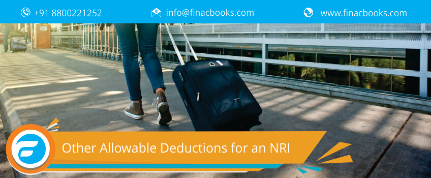 Other Allowable Deductions for an NRI