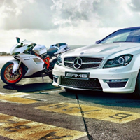 Motorcycles and Cars