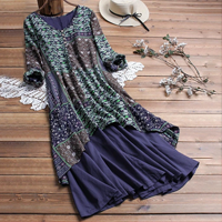 Printed & Patchwork Clothing