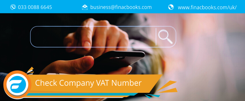 VAT Number: Check for EU & UK Companies VAT Number | FinacBooks UK